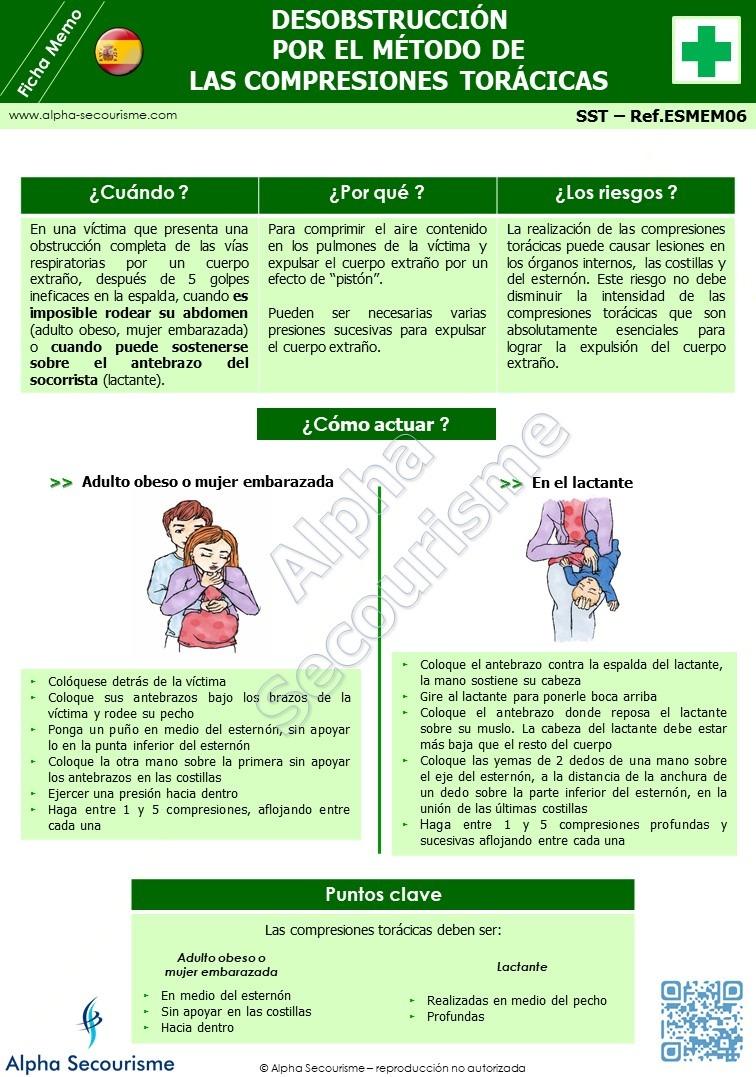Ficha Memo SST 6 - Alpha Secourisme
